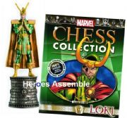 Marvel Chess Collection #04 Loki Eaglemoss Publications